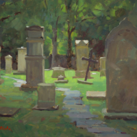 Cemtery clearing