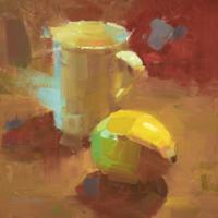 Lemon meets cup