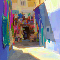 Morocco alley