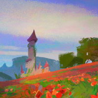 Poppy castle