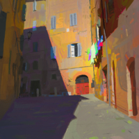 Shapes of Siena